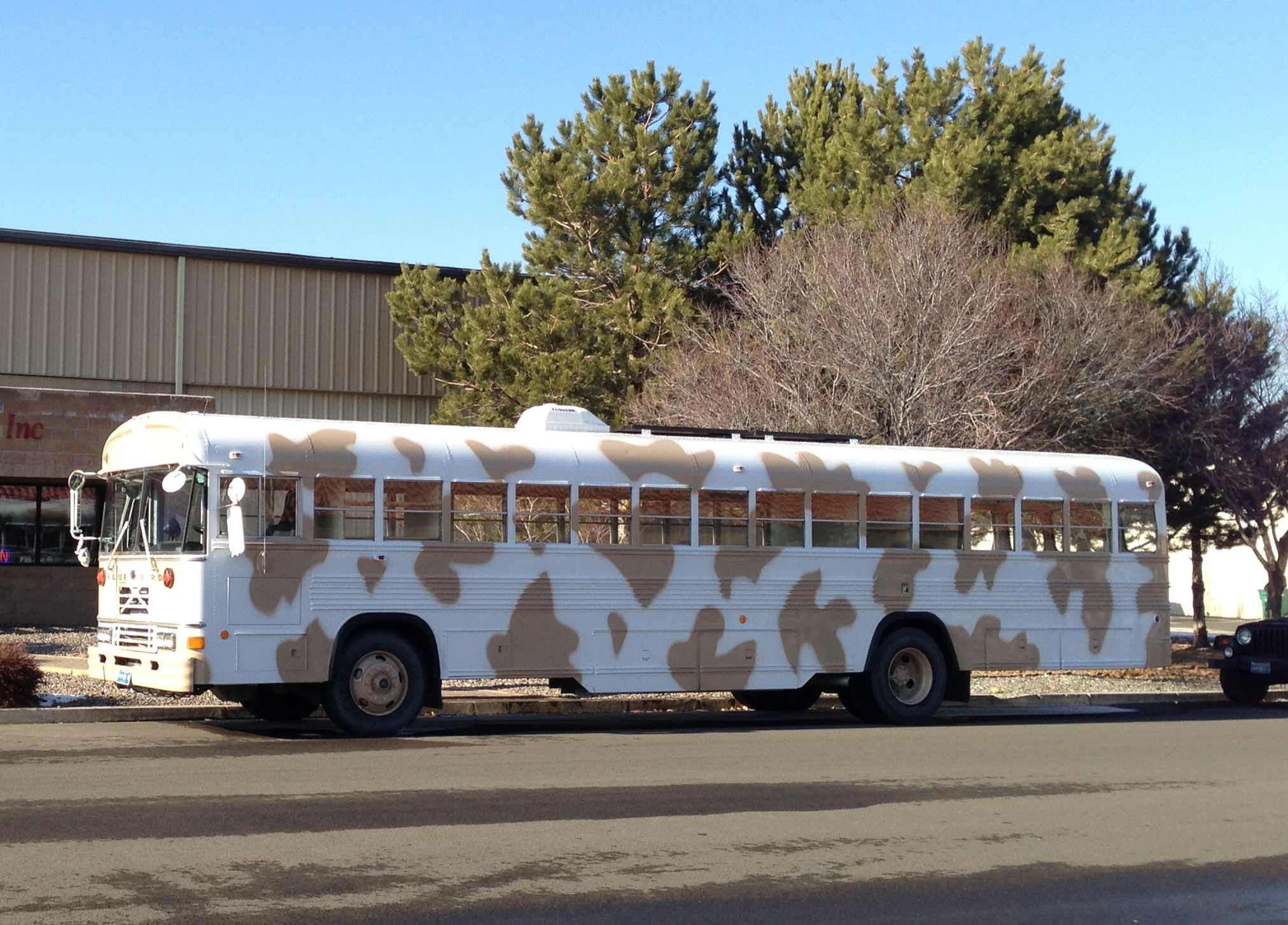 Classroom On Wheels Cow Bus Community Chest