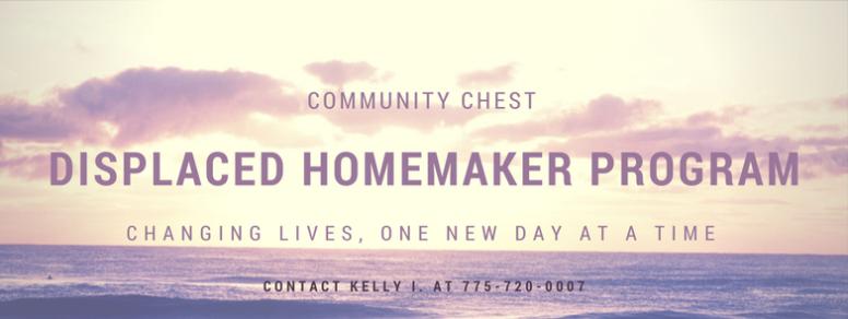 displaced homemaker program community chest